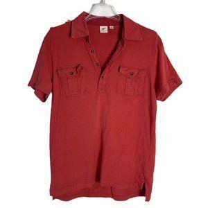 Uniqlo x Michael Bastian Polo Shirt Red Short